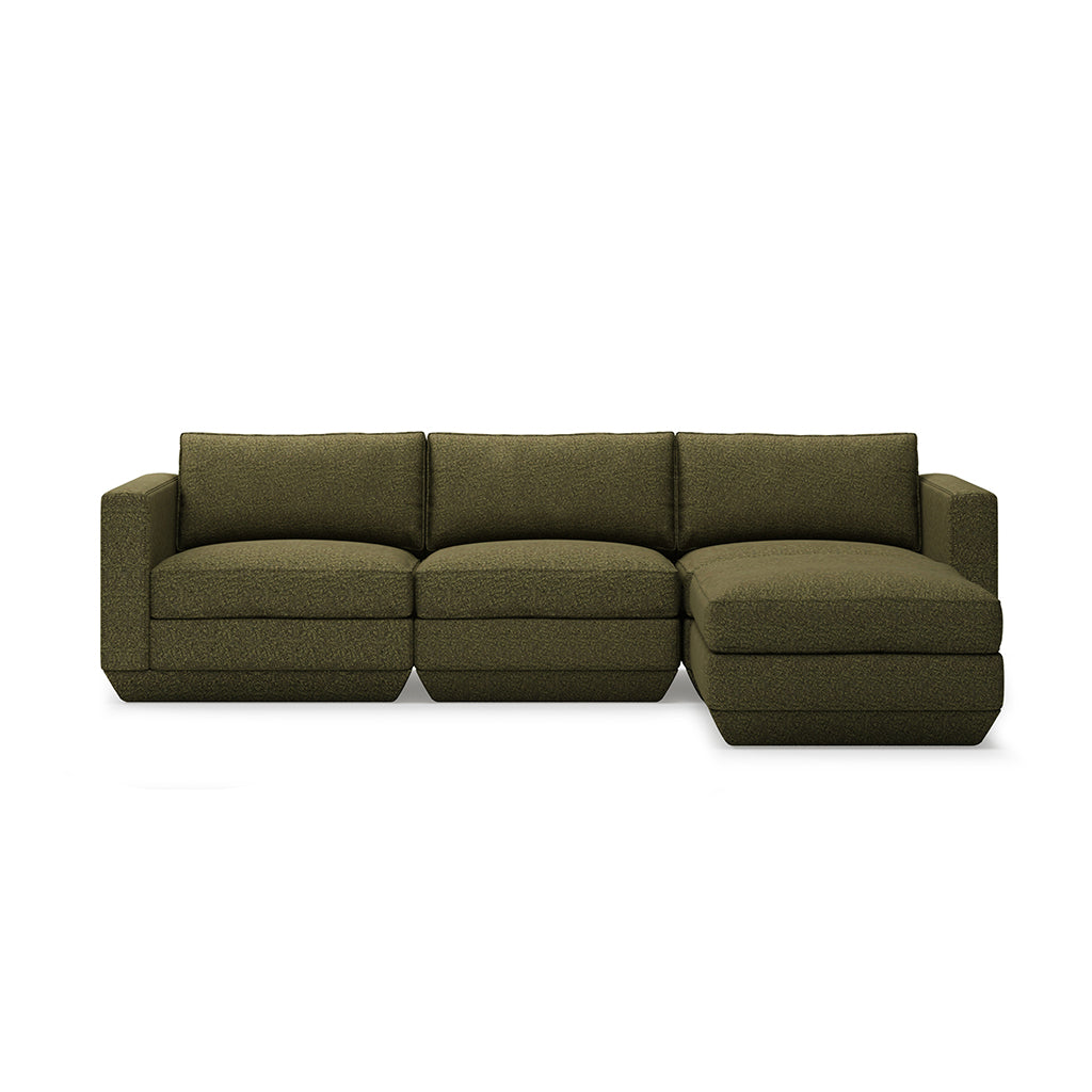 Gus* Modern Podium 4 Piece Sectional