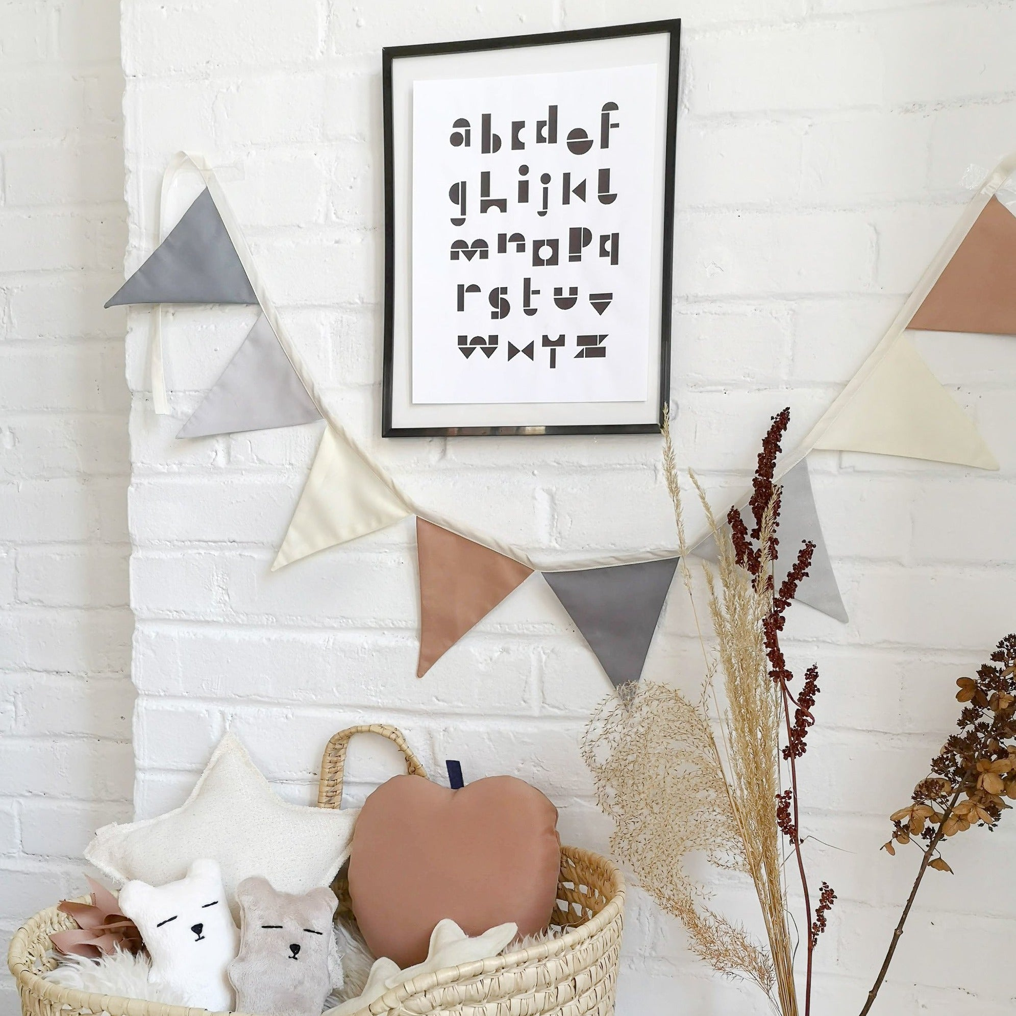 Pastel Decorative Bunting