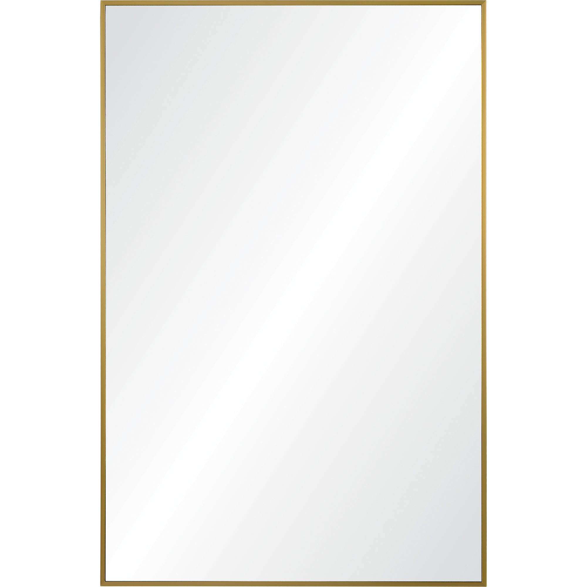 Remi Wall Mirror / Brass