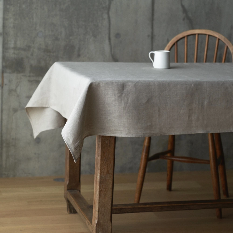 Linen Table Cloth - Rug & Weave