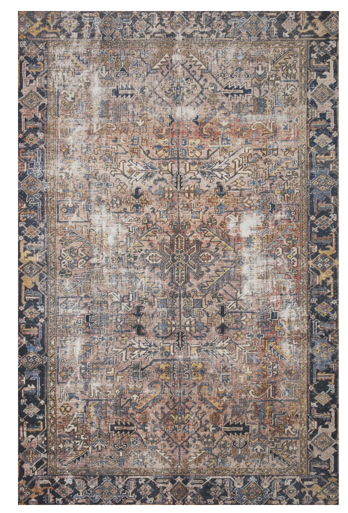 In Store Rug - Jules Terracotta / Multi