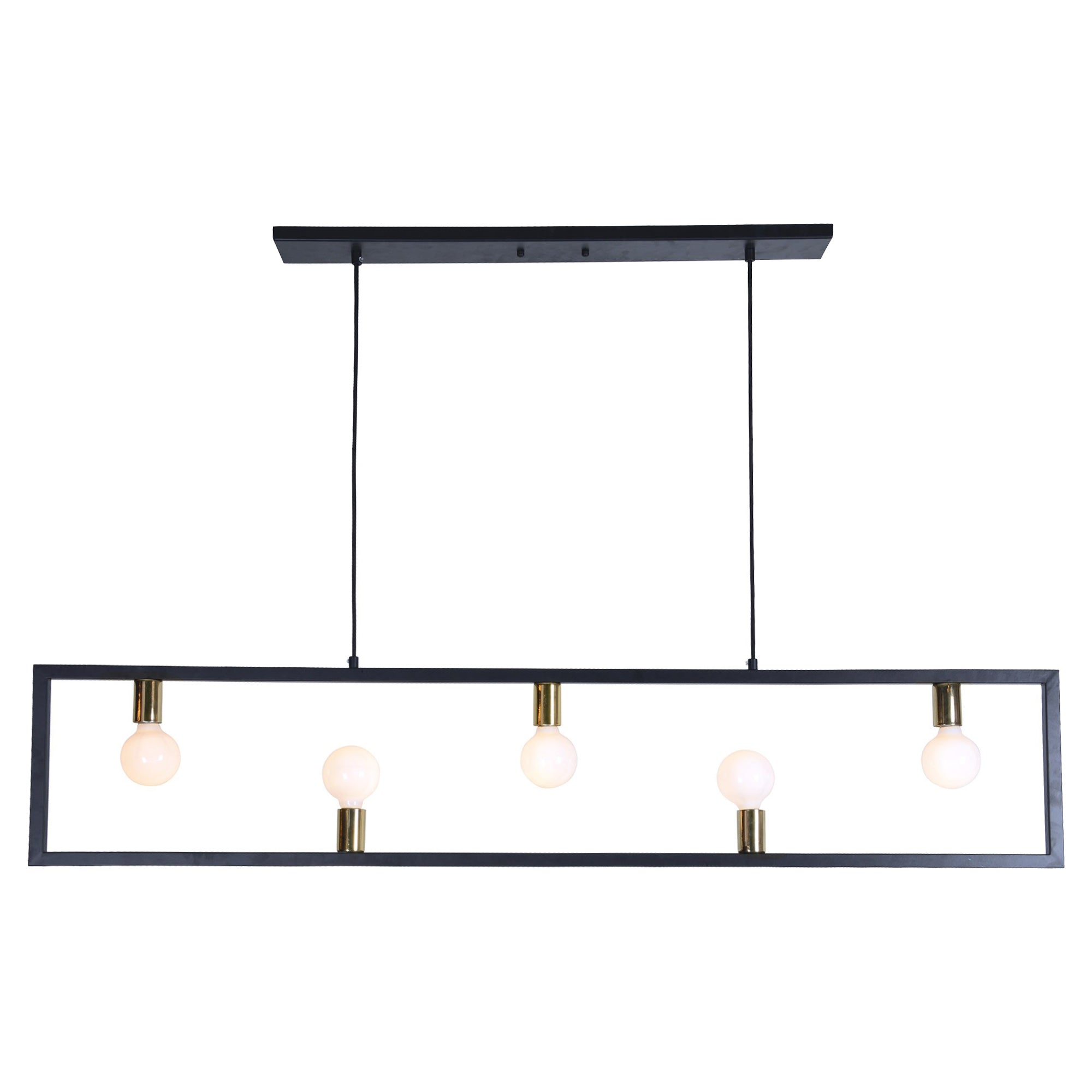 Ventura Iron & Brass Pendant Light