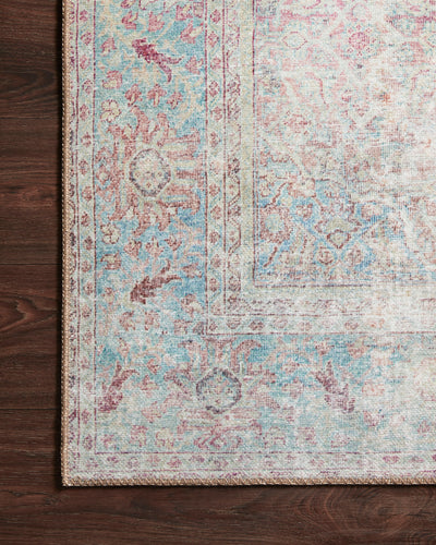 Loloi Wynter Red / Teal Rug - Rug & Weave