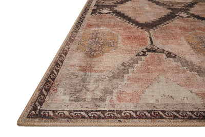Loloi Wynter Graphite / Blush - Rug & Weave