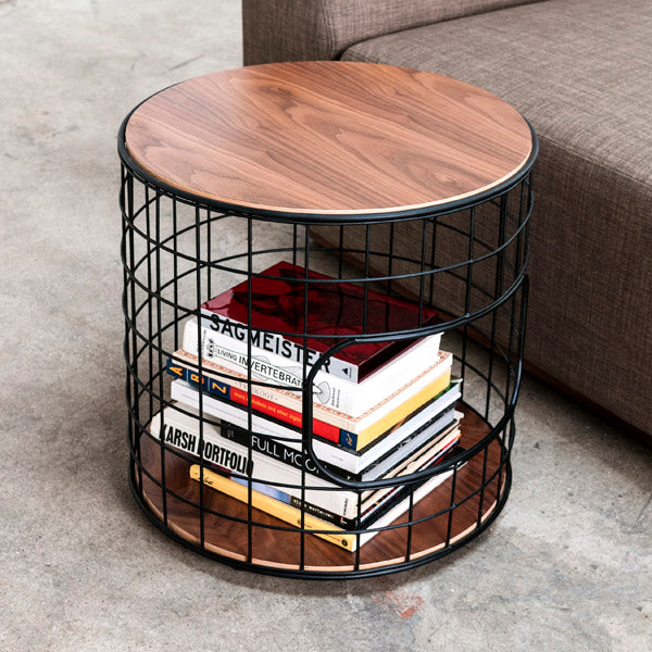 Gus* Modern Wireframe End Table - Rug & Weave