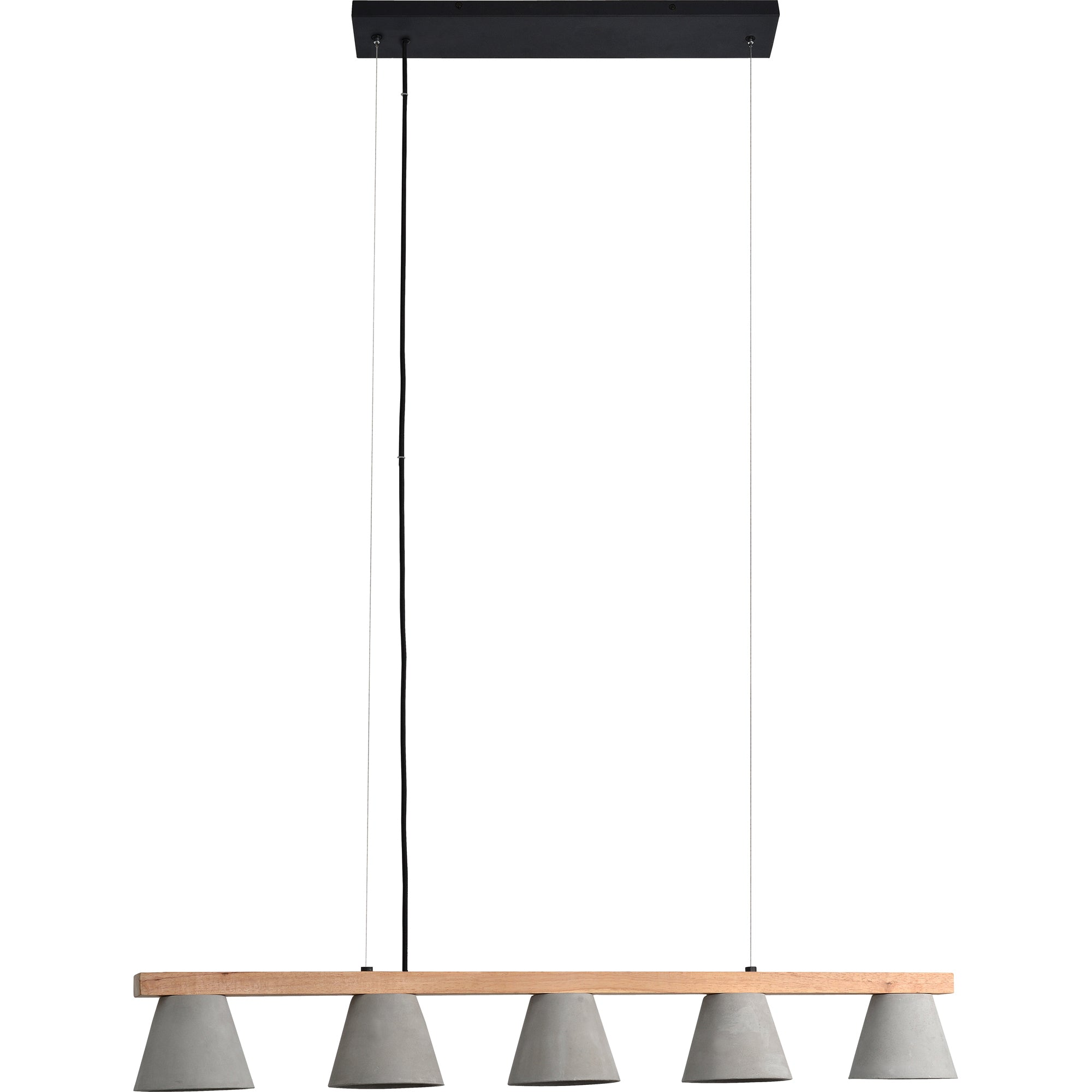 Blaine Wood & Concrete Pendant Light