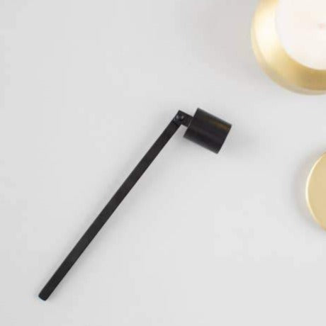 Matte Black Candle Snuffer