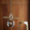"""Lp"" Brass Pendant Lamp - Rug & Weave"