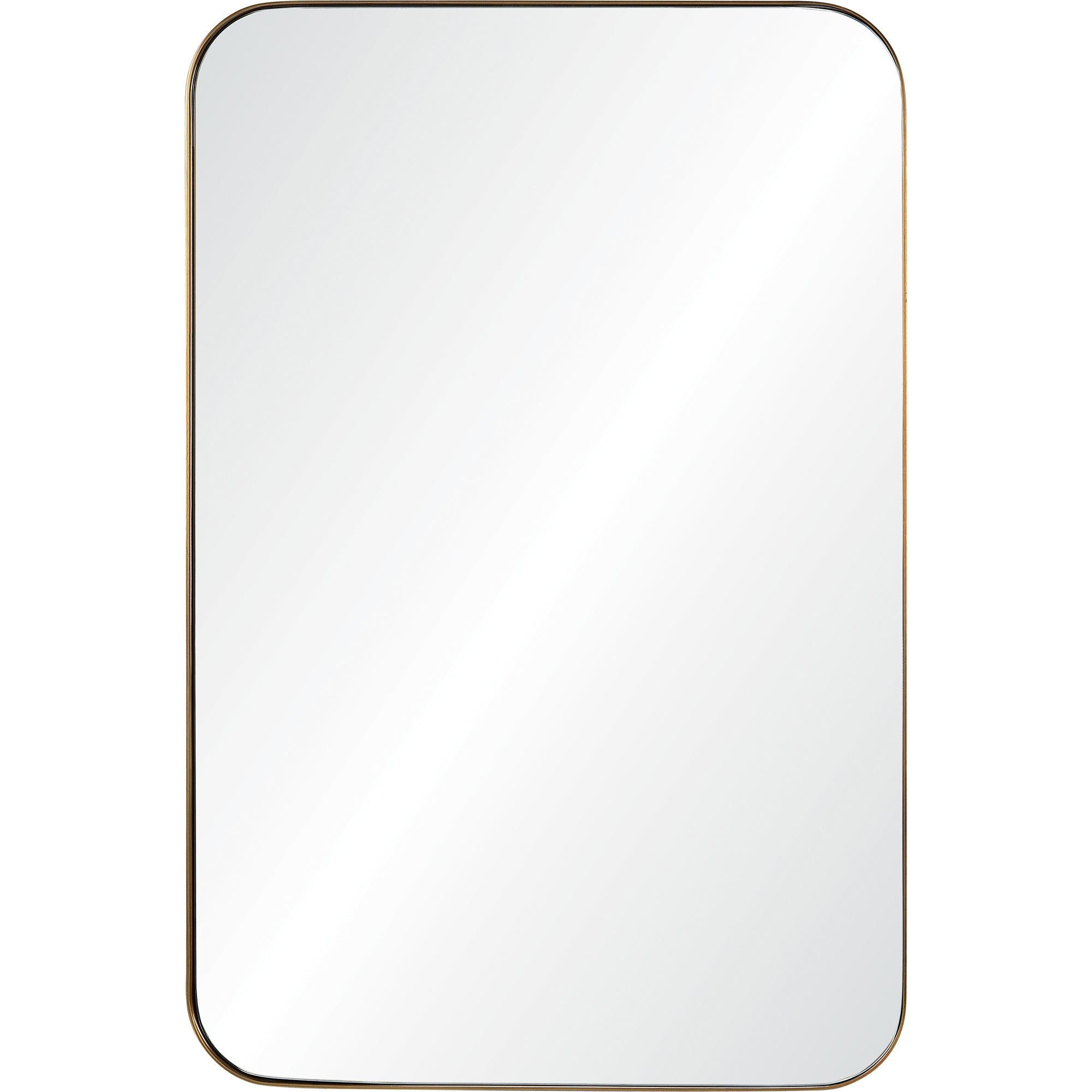 Eddie Bronze Wall Mirror