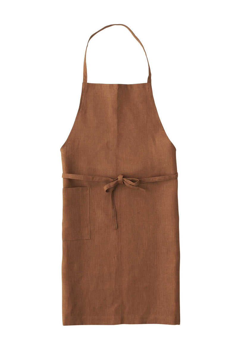 Ocre Linen Daily Apron