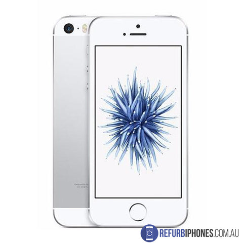 Refurbished iPhone SE 64GB Silver Unlocked | 3 Month Warranty