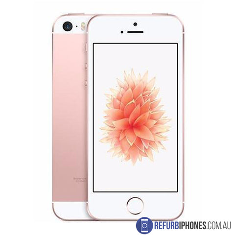 Refurbished iPhone SE 64GB Rose Gold Unlocked | 3 Month Warranty