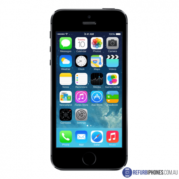 refurbished iphone 5s 32gb space gray unlocked 3. Black Bedroom Furniture Sets. Home Design Ideas