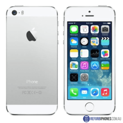 Refurbished Apple iPhone 5s 64GB White/Silver