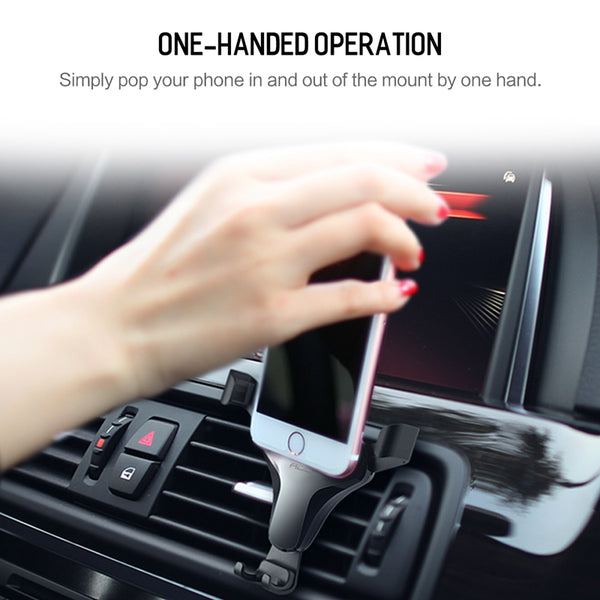 T-Shaped Air Vent Mobile Phone Holder
