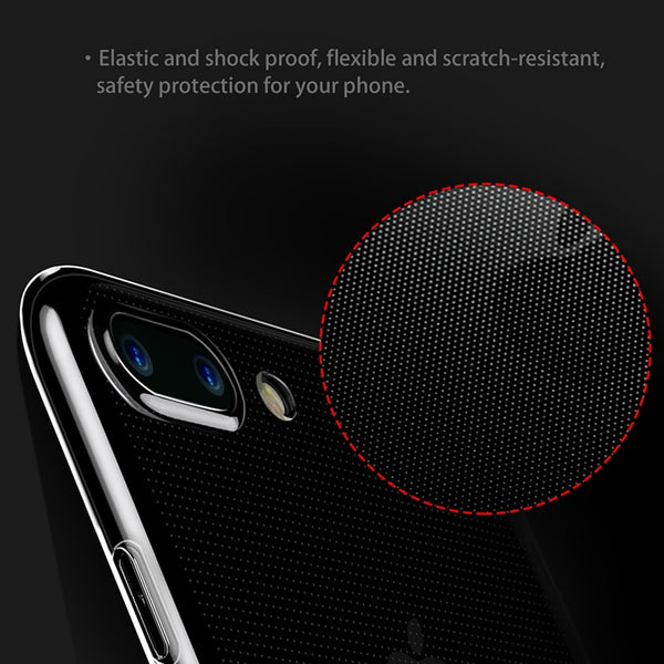Thin Soft TPU AntiKnock Silicone Case | iPhone 8 8 Plus 7 7 Plus