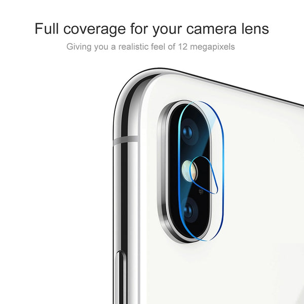 0.2mm Thin Scratch Proof Camera Lens Glass | iPhone X