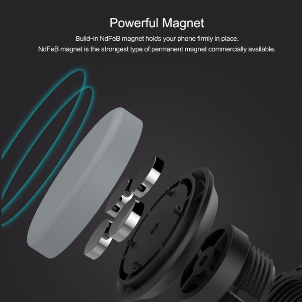Rotatable Magnetic Car Phone Holder