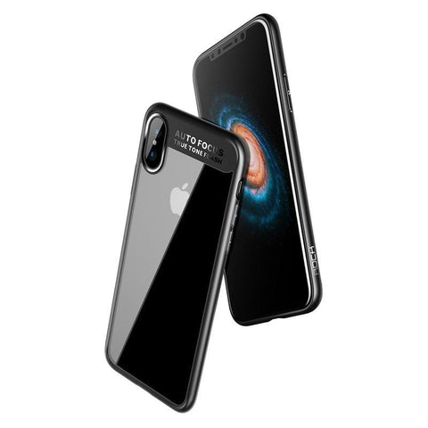 Slim Full Protective PC & TPU Silicone Case | iPhone X