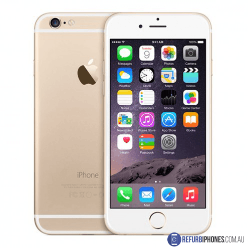Refurbished Unlocked Apple iPhone 6 Plus 64GB Gold