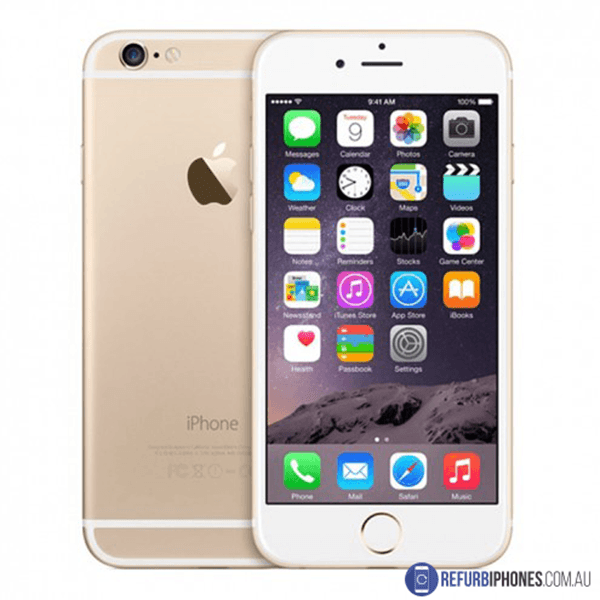 Refurbished Apple iPhone 6 16GB - Gold