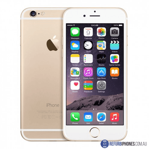 Refurbished Apple iPhone 6 64GB - Gold