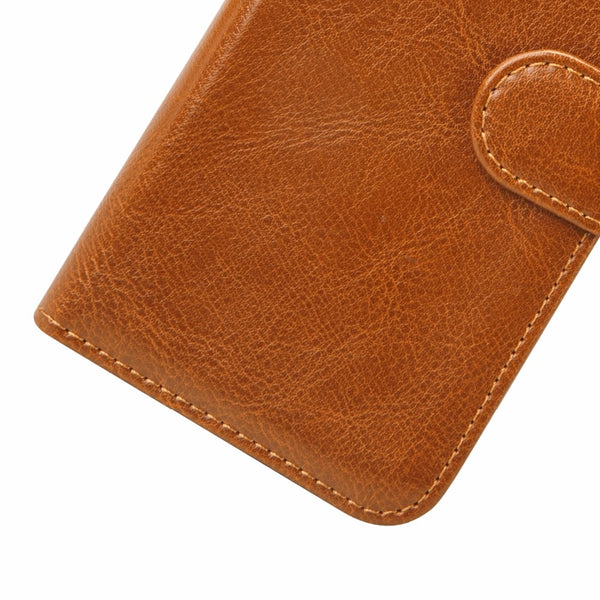Genuine Leather Magnetic Flip Folio Cover | iPhone X