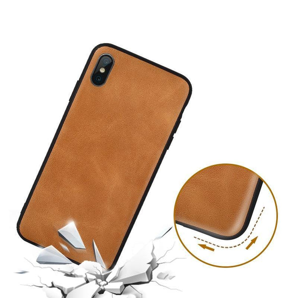 Vintage Leather Protective Cover | iPhone XS MAX