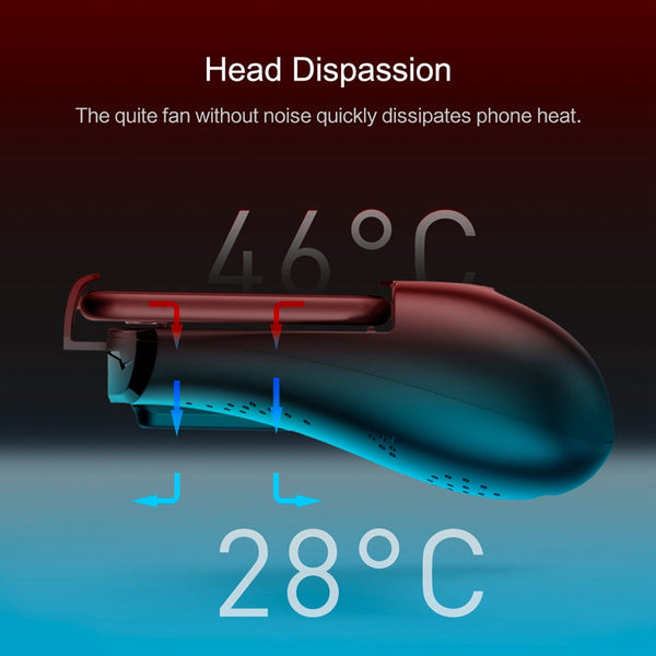 Phone Radiator Hand Shank Holder 1200mah