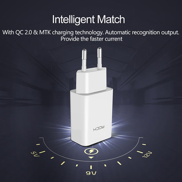 Universal Quick Wall Charger | US Plug