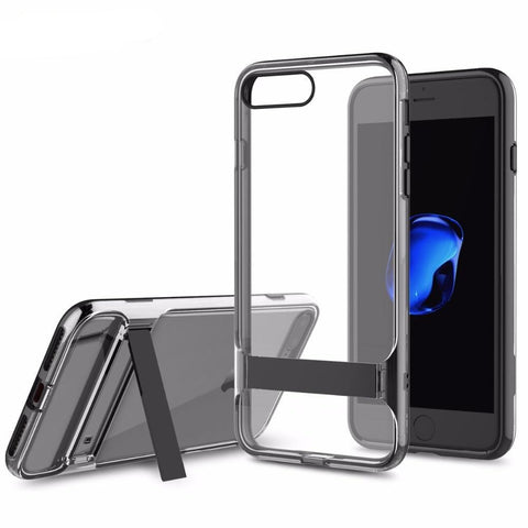 Kickstand Transparent Phone Case | iPhone 7 & 7 plus