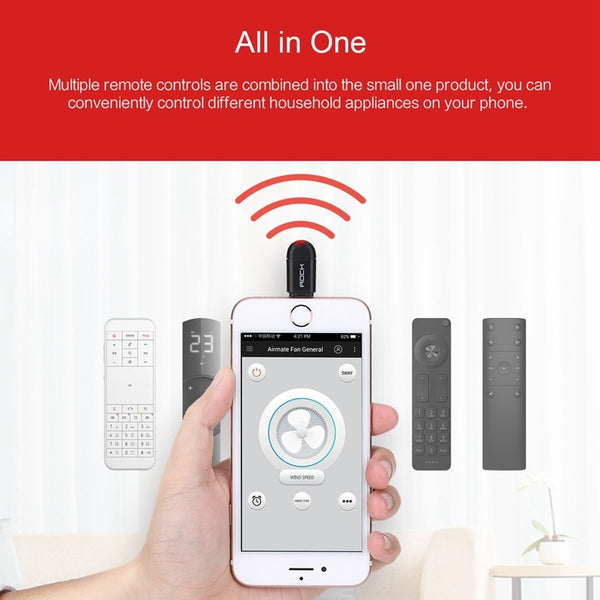 Portable Intelligent Remote for iPhone