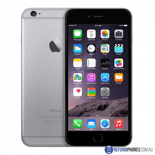 Refurbished Unlocked Apple iPhone 6 Plus 64GB Space Gray