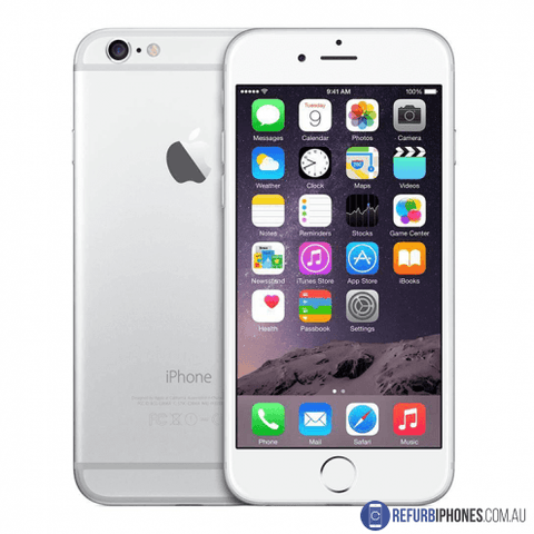 Refurbished Unlocked Apple iPhone 6 Plus 64GB Silver