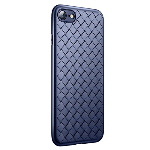 Slim Thin Soft Weave Protector Case | iPhone 7 8 plus