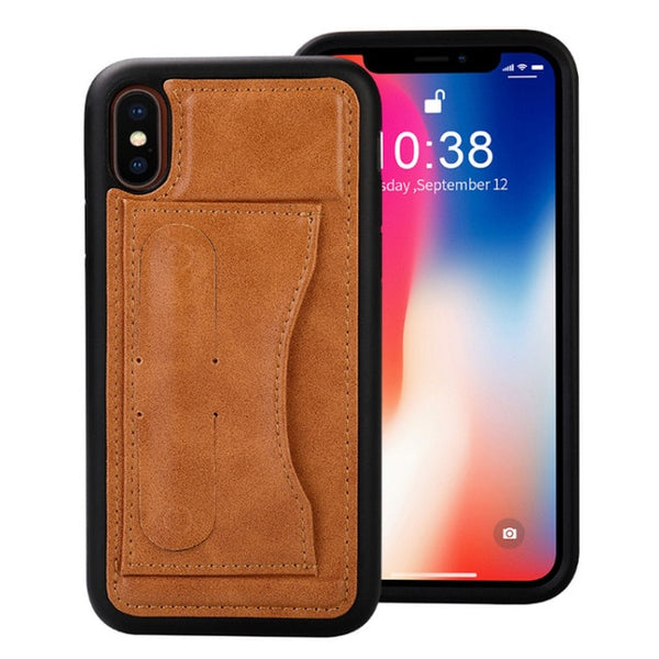 Leather Case With Card Slot | iPhone X