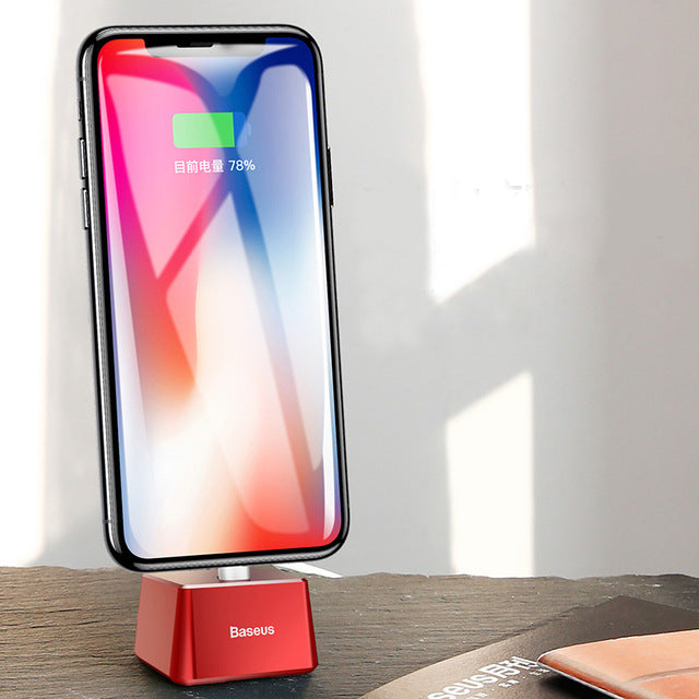 Desktop Charging Dock Station | iPhone XS X 8 7 6 6S Plus 5