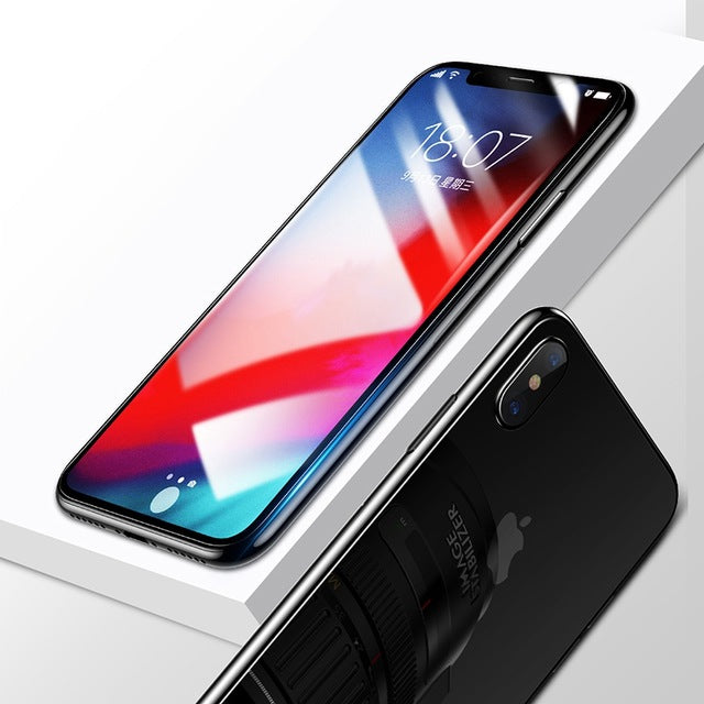 Front Glass + Back Tempered Glass | iPhone Xs Xs Max XR 2018