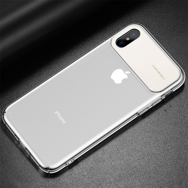 Ultra Thin PC Back Phone Cover | iPhone Xs Xs Max XR