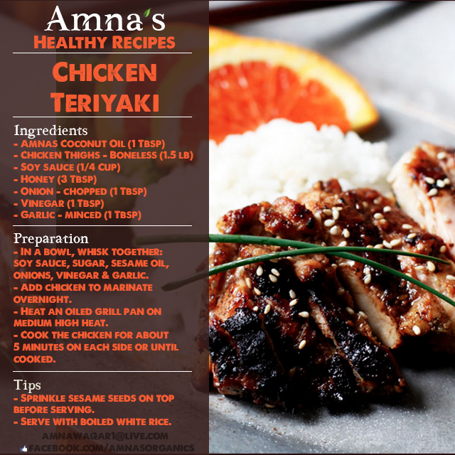 Healthy-quick-and-easy-chicken-tiryaki-recipe-by-Amnas-Naturals-and-Organics-Lahore-Pakistan