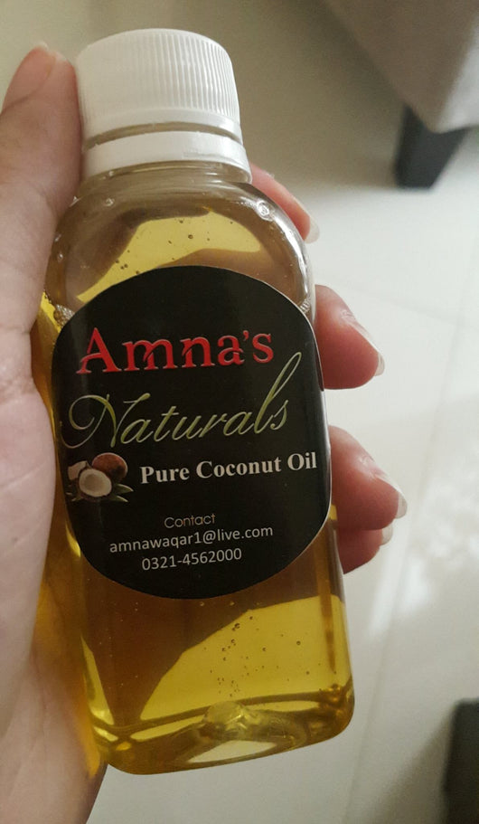 Coconut Oil | All-Natural Cold Pressed - Amna's Naturals & Organics - Pakistan Lahore