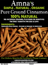 Cinnamon (ground) | All-Natural - Amna's Naturals & Organics - Pakistan Lahore