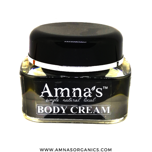 Body Cream | Natural Ingredients - Amna's Naturals & Organics - Pakistan Lahore