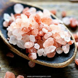 Pink Rock Salt (Ground) | Organic - Amna's Naturals & Organics - Pakistan Lahore