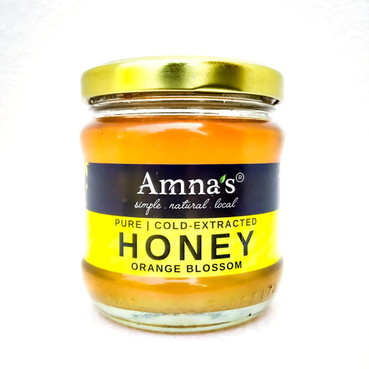 Orange Blossom Honey - Amna's Naturals & Organics - Pakistan Lahore