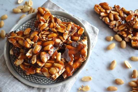 Old Fashioned Peanut Brittle | All-Natural - Amna's Naturals & Organics - Pakistan Lahore