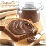 Peanutella | Chocolate Peanut Butter Spread | Sugar-Free Keto Paleo Diabetic Friendly - Amna's Naturals & Organics - Pakistan Lahore