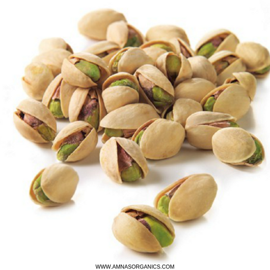 Pistachios | Dry Roasted | Salted - Amna's Naturals & Organics - Pakistan Lahore