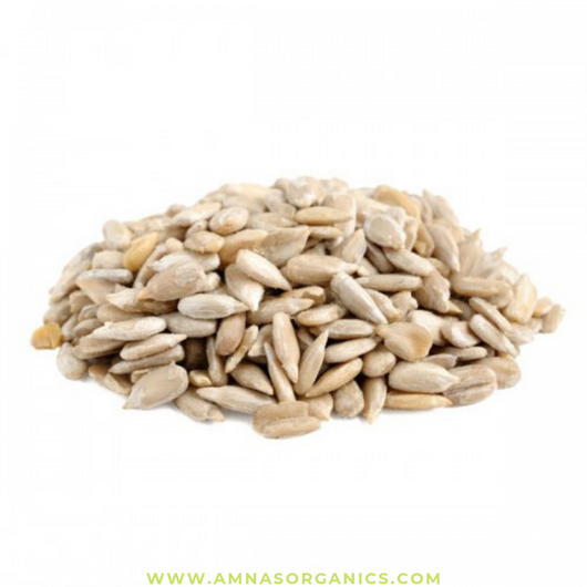 Sunflower Seeds | Raw | Hulled - Amna's Naturals & Organics - Pakistan Lahore