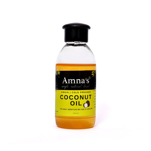 Coconut Oil | Virgin Natural Cold Pressed - Amna's Naturals & Organics - Pakistan Lahore